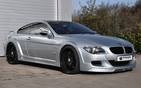 Picture design, grey, bmw, drives, tuning, prior
