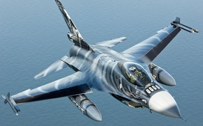 Picture 2010, General Dynamics (SABCA) F-16AM Fighting Falcon (401), In Flight over Netherlands, October