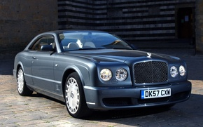 Picture coupe, bentley, coupe, the front, Bentley, Brooklands, brooklands