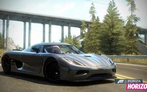 Picture the game, race, supercar, Forza Horizon, koenigsegg agera