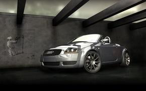 Picture machine, Audi, sport