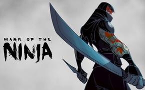 Picture ninja, games, ninja, small, Mark of the Ninja