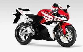 Picture red, Honda, CBR600