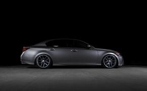 Picture speed, Lexus, Sport, 350, GS F, Matte Gunmetal