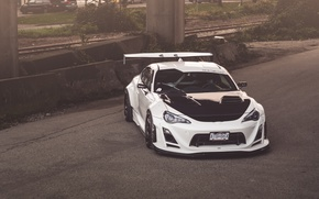 Picture Toyota, White, Tuning, GT-86