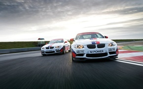 Picture sport, tuning, BMW, speed, BMW, track, E92
