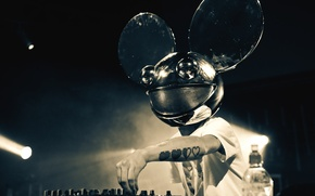 Picture Music, The game, Mask, Tattoo, Tattoo, Club, Deadmau5, Deadmaus