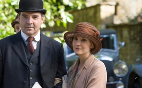 Picture the series, actors, drama, characters, Downton Abbey, Brendan Coyle, Joanne Froggatt, John Bates, Anna Bates