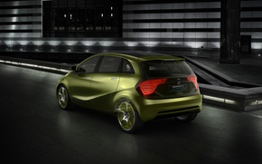 Picture hatchback, Mersedes-Benz, bluezero