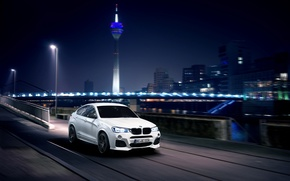 Picture BMW, City, Speed, Germany, Nigth, AC-Schnitzer