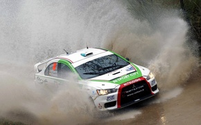 Picture Auto, Race, Mitsubishi, Evo X, Lancer, Squirt, Argentina, WRC, Argentina, Rally, Rally