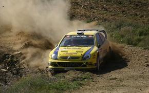 Picture Dust, Citroen, Citroen, WRC, Rally, Rally, Xsara, Galli