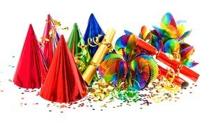 Picture decoration, birthday, colorful, Happy, Birthday
