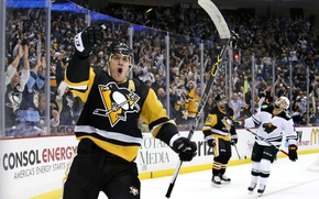 Picture the game, ice, hockey, goal, hockey player, match, hockey, Evgeni Malkin, wow, Pittsburgh Penguins, Pittsburgh …