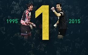 Picture player, Italian, 1995, Juventus, 2015, Parma, Buffon