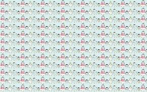 Picture background, texture, family, art, penguin, children's