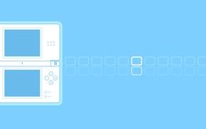 Picture nintendo, games, gaming, minimalism, nintendo ds