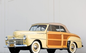 Picture Ford, car, cars, classic, Super, 1948, Convertible, Deluxe, Sportsman