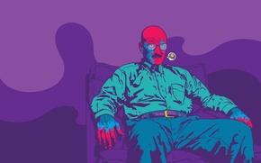 Picture man, vector, Lenin