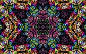 Picture psychedelic, Psychedelic, Fractals