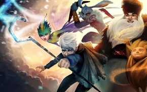 Picture fairy, Rise of the Guardians, Rise of the guardians, Jack Frost, Easter Bunny, Nicholas St. …