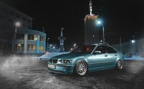 Picture BMW, Blue, BMW, E46, 3 Series