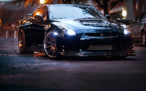 Picture Auto, Tuning, Street, GTR, Machine, Nissan, Drives