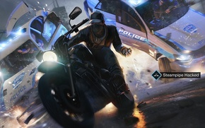 Picture crash, games, Phone, Link, Watch Dogs, Aiden Pearce