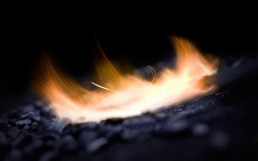 Wallpaper fire, flame, sparks