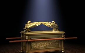 Picture Ark of the covenant, A means of communication, The ark of the Covenant