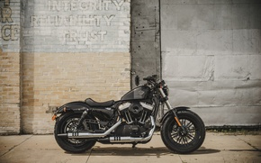 Picture bike, classic, american, Harley-Davidson, Sportster, Forty-Eight, 2016, v-twin, 1200