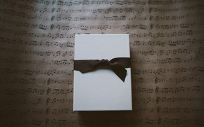 Picture box, gift, tape