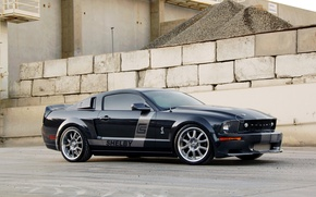 Picture Mustang, Ford, Shelby, 2008, Mustang, Ford, Shelby, Turn 2, Hill Bank Motorsports, CS8