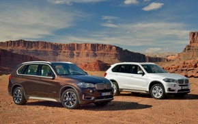 Picture the sky, BMW, BMW, canyon, the front