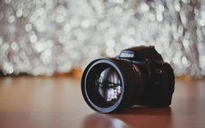 Picture Nikon, lens, bokeh, Boke, Bokeh, Nikkor, 1.4, D40x