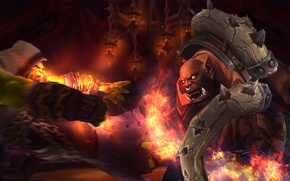 Picture blow, orcs, wow, world of warcraft, tyrant, Thrall, Horde, Thrall, Horde, Garrosh, the shaman of …