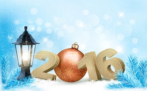 Picture toy, tree, holiday, snow, 2016, lantern