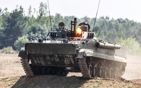 Picture machine, combat, The BMP-3, infantry
