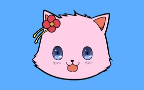 Picture kawaii, game, flower, nothing, pink, anime, cat, asian, cute, manga, japanese, oriental, asiatic, sugoi, visual …