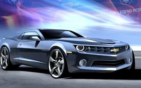 Picture figure, Chevrolet, Camaro, General Motors