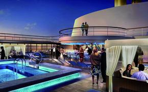 Picture Saint Tropez, Lido Bar, elite, people, chic, the evening, mood, bar