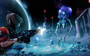 Picture monsters, Machine, 2K Games, Gearbox Software, 2K Australia, Borderlands: The Pre-Sequel, Pandora