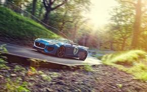 Picture road, Concept, speed, Jaguar, Jaguar, Project 7