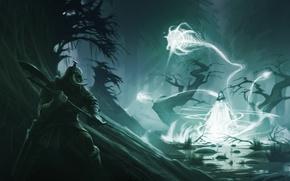 Picture magic, warrior, skyrim, Skyrim, barbarian, The Elder Scrolls
