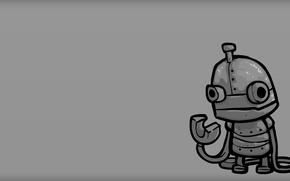 Picture robot, minimalism, Machinarium