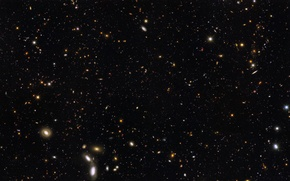 Picture Hubble, The universe, Galaxy, NASA, Galaxies Hubble Ultra Deep Field Partial, 12 billion light years