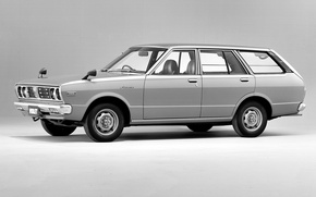 Picture retro, Nissan, black and white, Nissan, 1977, Violet, 1979, Violet, Van
