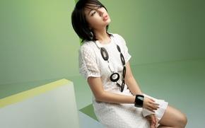 Picture Girl, Music, Asian, Beauty, Background, Kpop, Actress, Cute, Look, Singer, Yoon Eun Hye, Korean