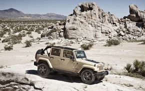Picture car, Wrangler, Jeep, SUV., high, patency
