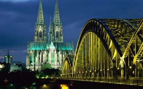 Picture Bridge, Cathedral, Germany